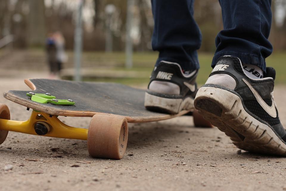 Un skate électrique